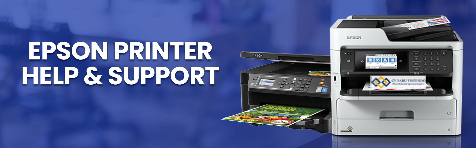 epson printer help & support