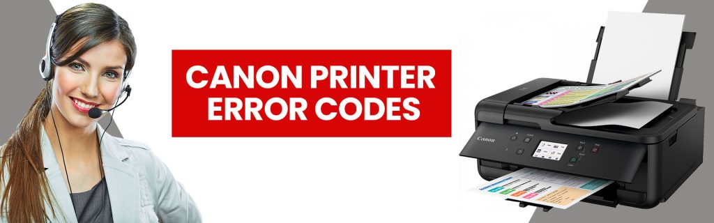 Canon printer error codes