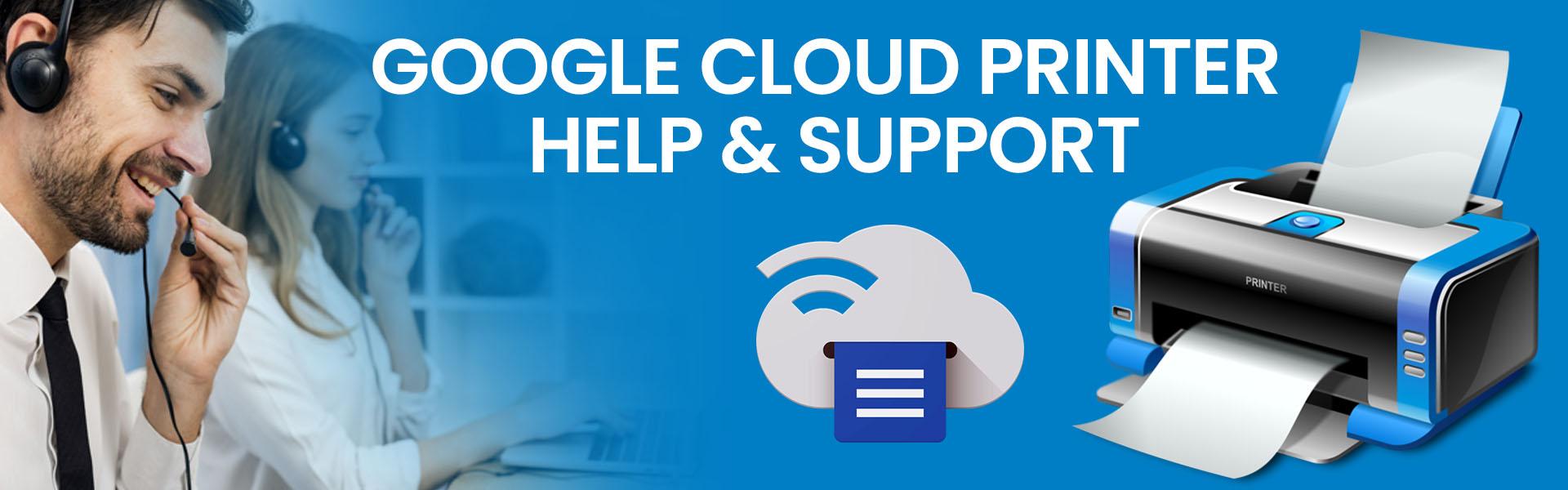 google cloud printer help support