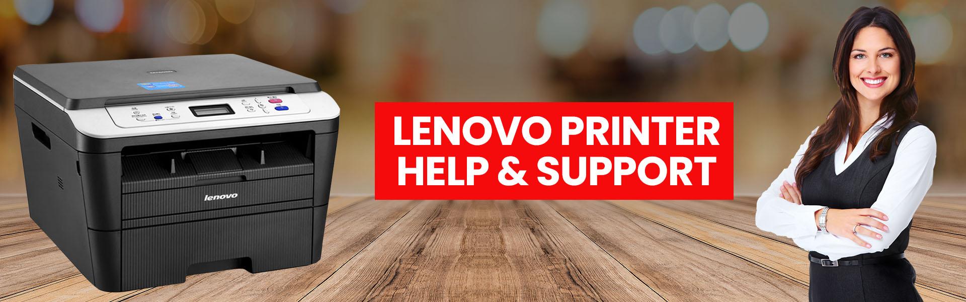 lenovo printer help support