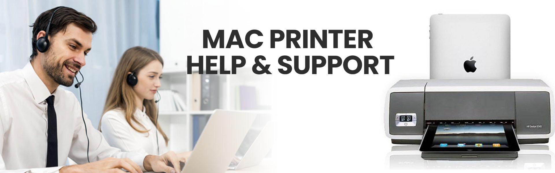 mac printer help support