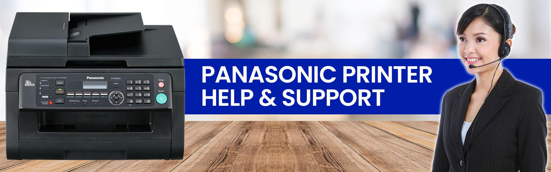 panasonic printer help support